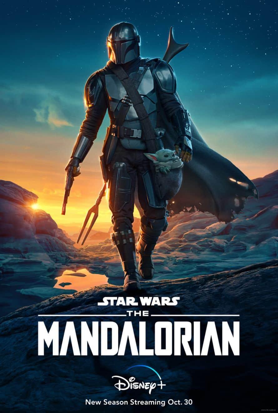 The Mandalorian Season 2 Poster Din Djarin The Child Disney Plus