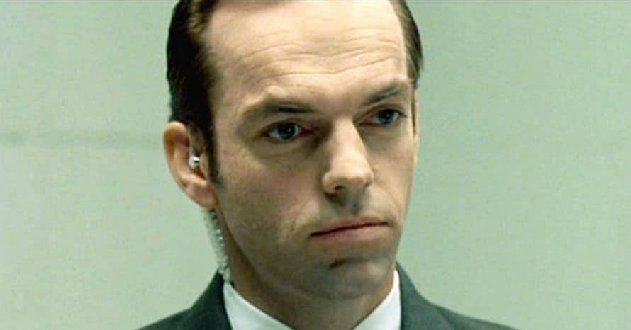 The Matrix 4 Hugo Weaving Keanu Reeves Agent Smith