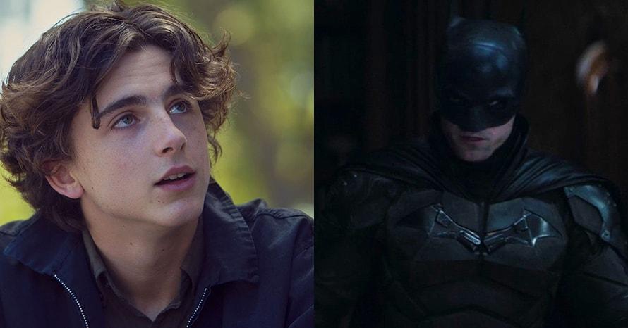 Timothee Chalamet Robin Robert Pattinson The Batman