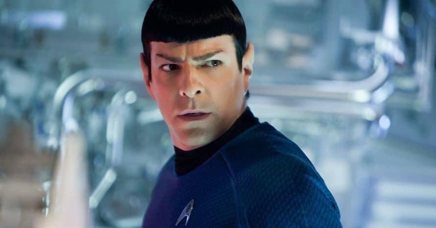 Zachary Quinto Spock Star Trek