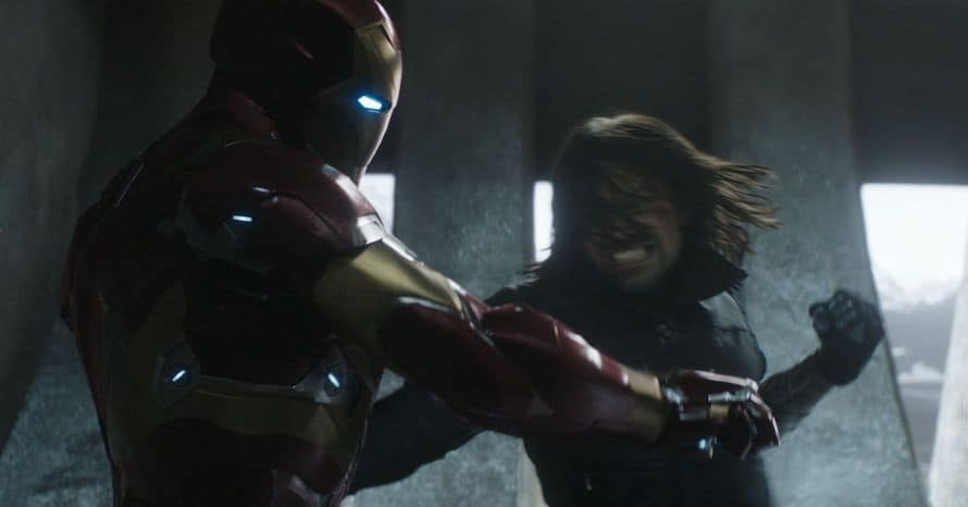 Captain America Civil War Iron Man Winter Soldier