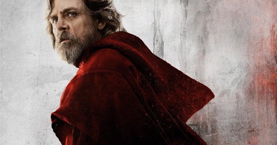 George Lucas Mark Hamill Luke Skywalker Star Wars The Last Jedi Episode VIII
