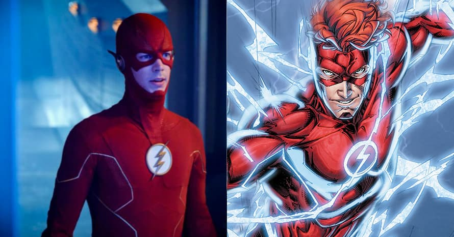 Grant Gustin The Flash Waslly West