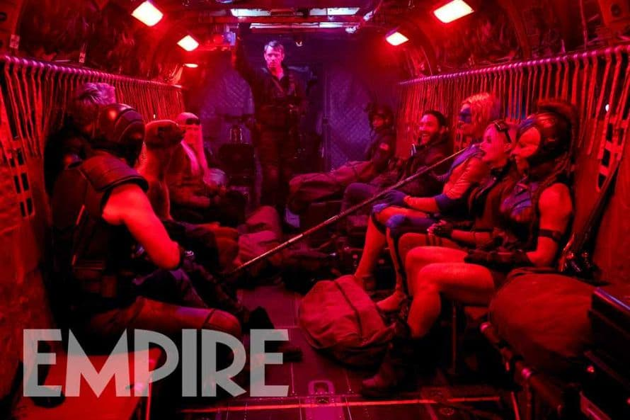 James Gunn The Suicide Squad Team Image