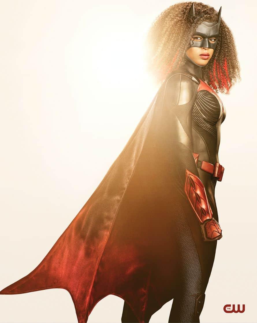Javicia Leslie Ryan Wilder Batwoman Season 2 Batsuit Side