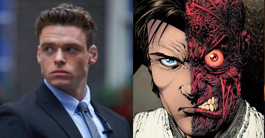 Richard Madden Two-Face Eternals The Batman Robert Pattinson