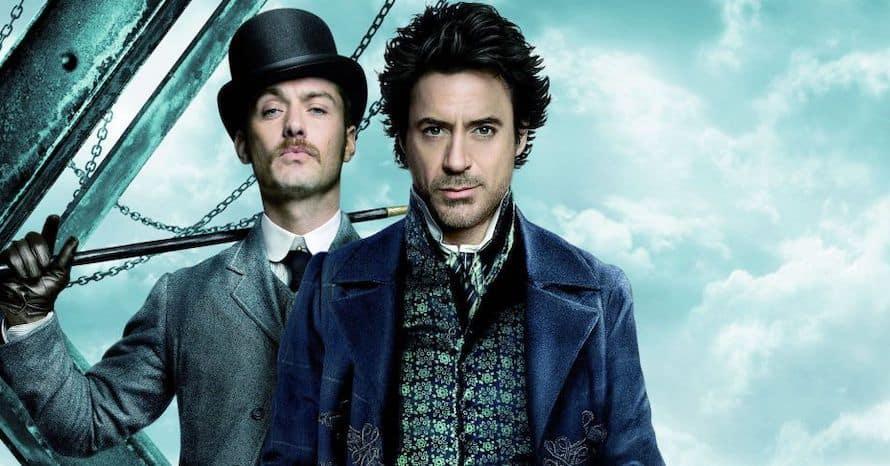 Sherlock Holmes 3 Dexter Fletcher Robert Downey Jr.