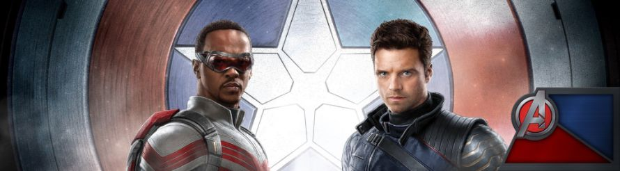 The Falcon And The Winter Soldier Banner Anthony Mackie Sebastian Stan