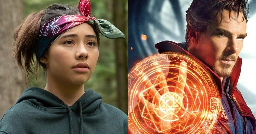 Xochitl Gomez Doctor Strange Benedict Cumberbatch America Chavez