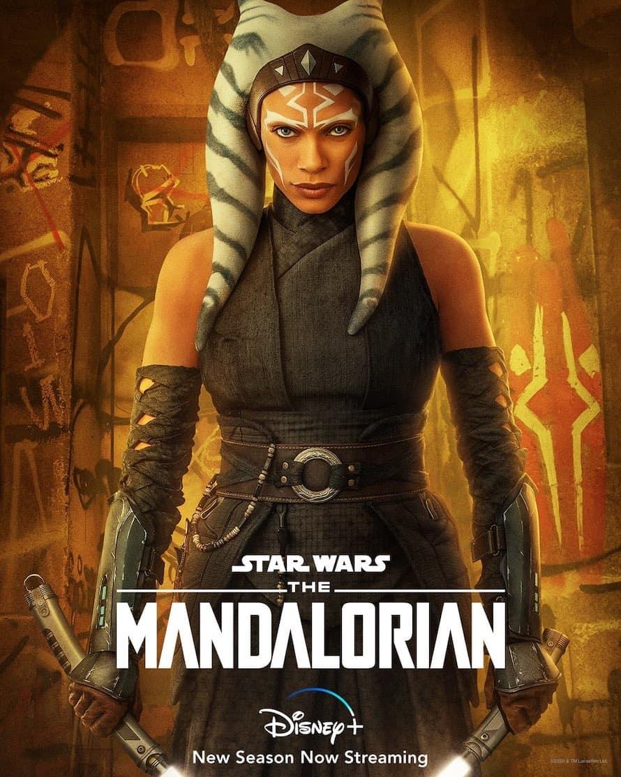 Ahsoka Tano Rosario Dawson Disney The Mandalorian