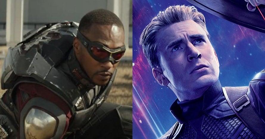 Anthony Mackie Captain America Chris Evans