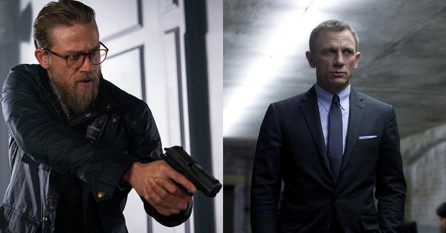 Charlie Hunnam James Bond Daniel Craig