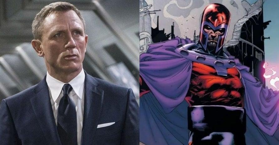Daniel Craig James Bond Magneto X-Men