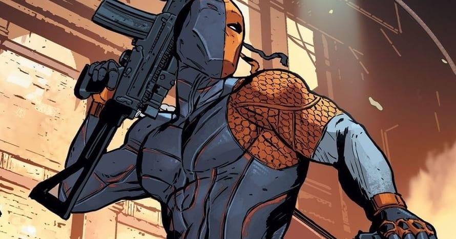 Deathstroke Rebirth DC Comics Titans