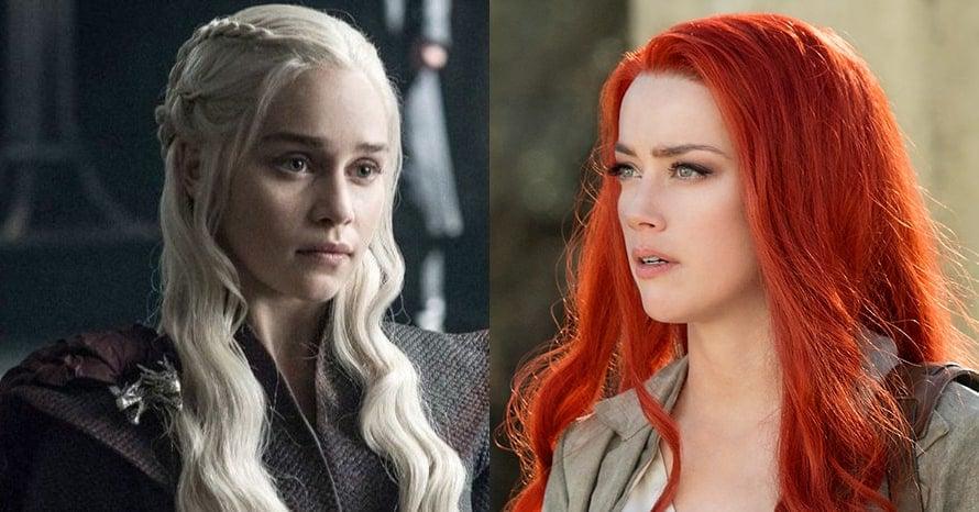 Emilia Clarke Amber Heard Aquaman 2 Mera