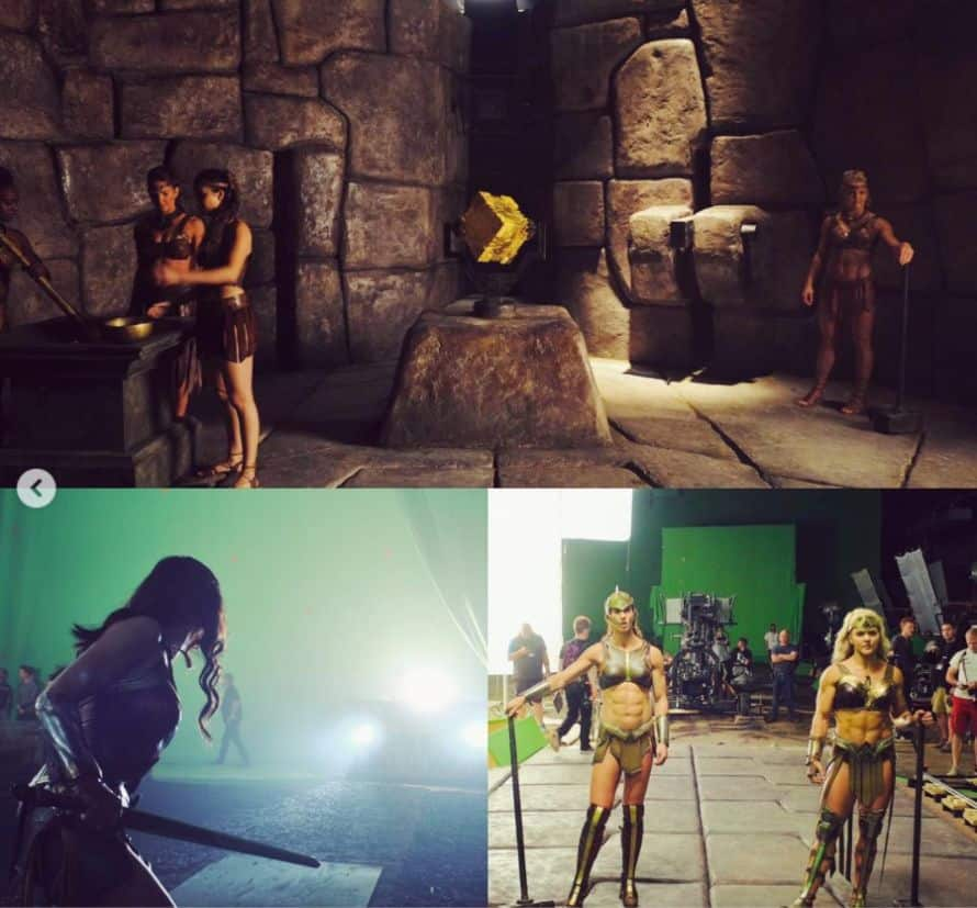 Gal Gadot Justice League Amazons