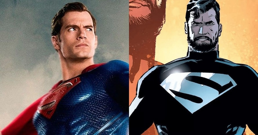 Henry Cavill's Black Suit Superman Joins The Team In 'Justice League' Stills