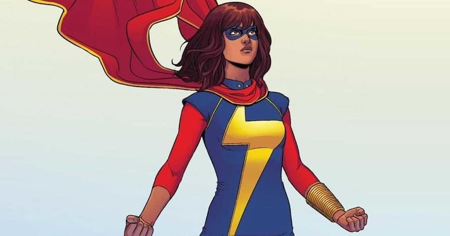 Iman Vellani Kamala Khan Ms. Marvel Captain Marvel Bad Boys For Life