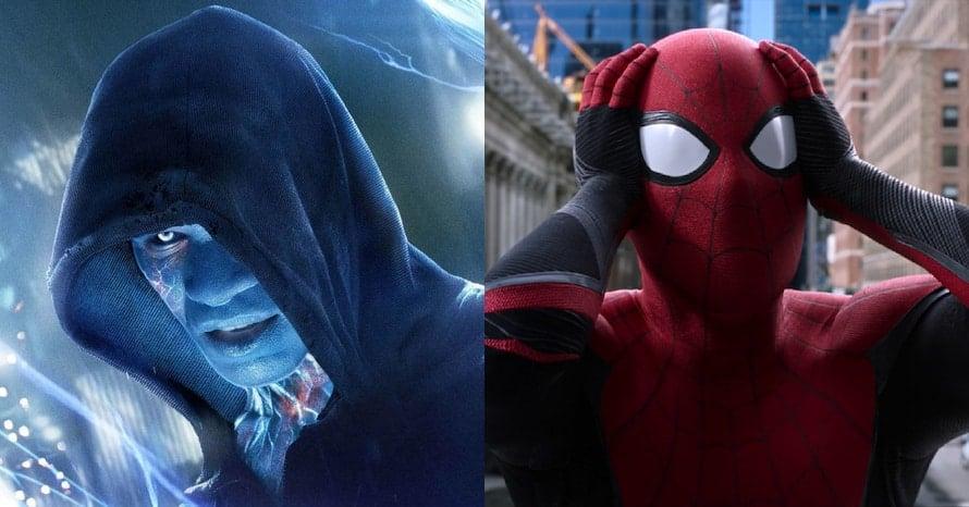 Jamie Foxx Electro, Spider-Man 3 Tom Holland