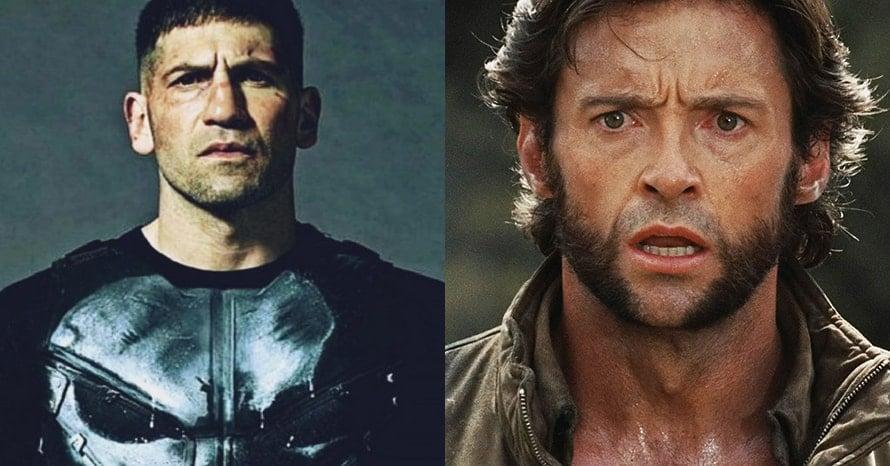 Jon Bernthal The Punisher Wolverine Hugh Jackman