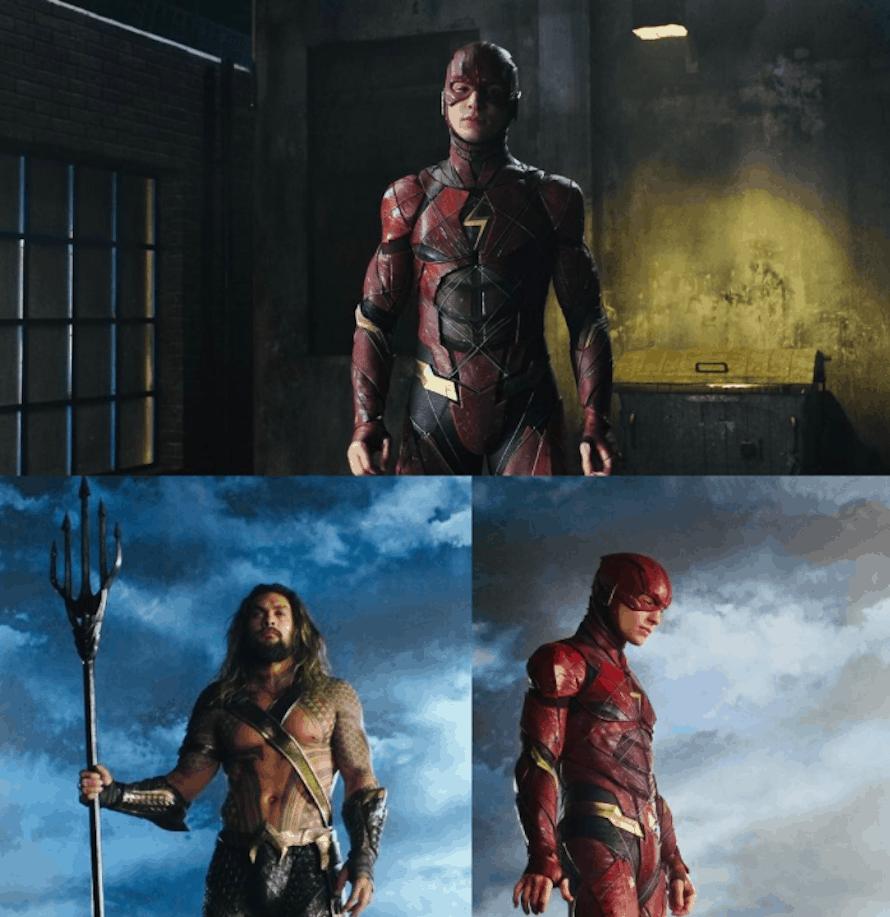 Justice League Vulko Jason Momoa Aquaman The Flash Ezra Miller