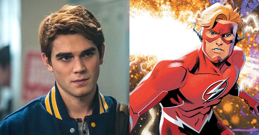 See KJ Apa become Wally West to replace Grant Gustin's The Flash