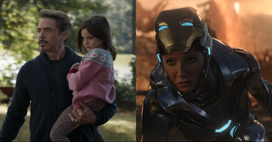 Morgan Stark Avengers Endgame Rescue