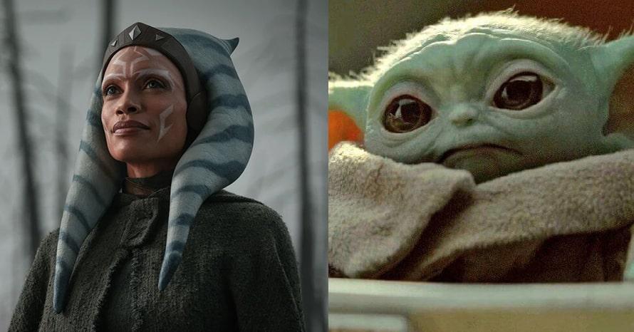 Rosario Dawson Ahsoka Tano The Mandalorian Baby Yoda