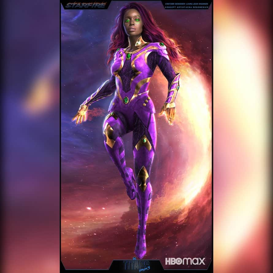Starfire Anna Diop Titans