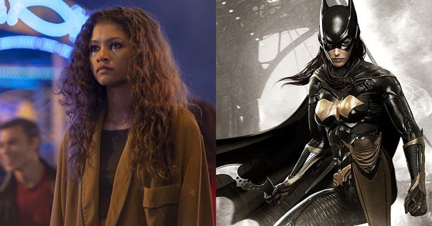Zendaya Batgirl The Batman Robert Pattinson