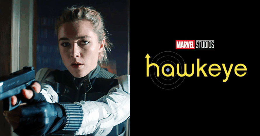 Florence Pugh Black Widow Hawkeye