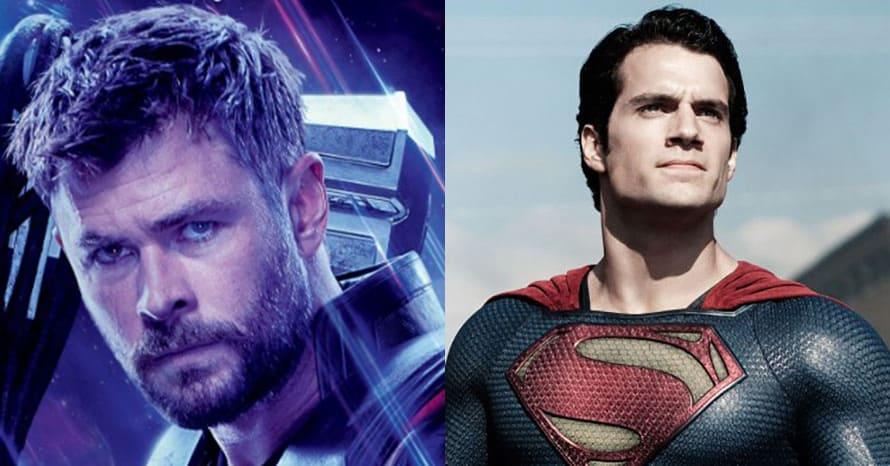 Chris Hemsworth Avengers Henry Cavill Superman