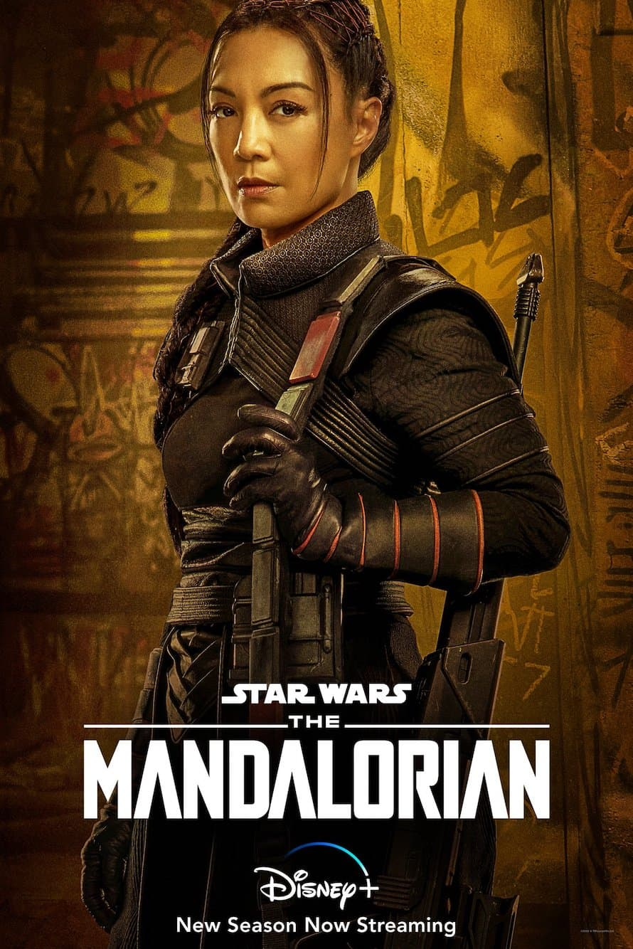 Fennec Shand Ming Na Wen The Mandalorian Disney Plus