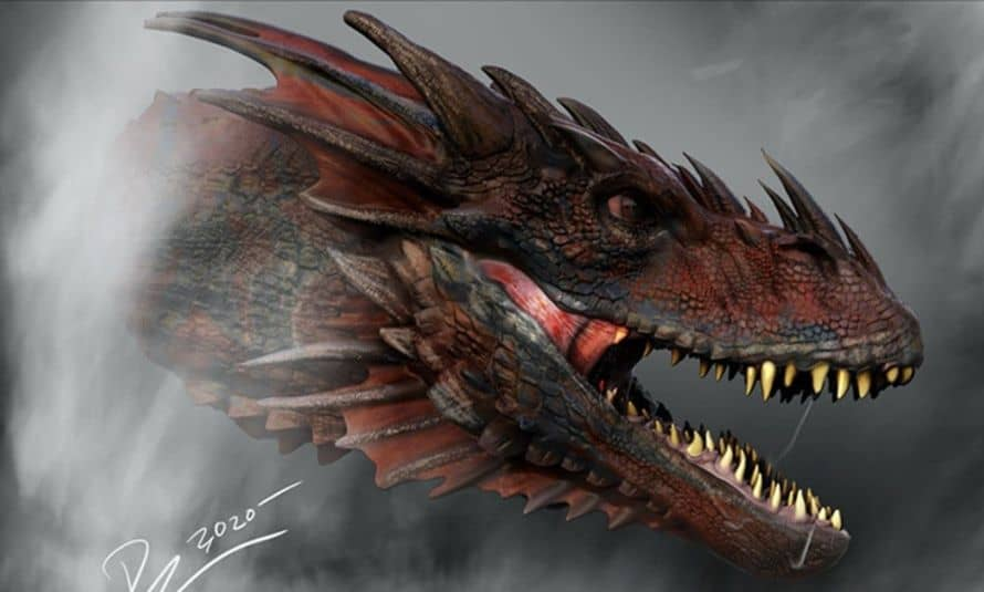 Game of Thrones House of the Dragon Concept Art Head