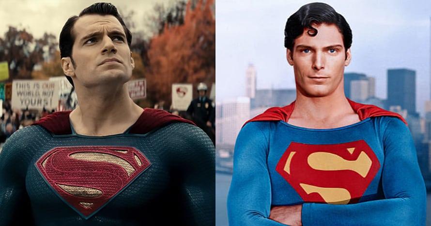 Henry Cavill Christopher Reeve Superman DCEU