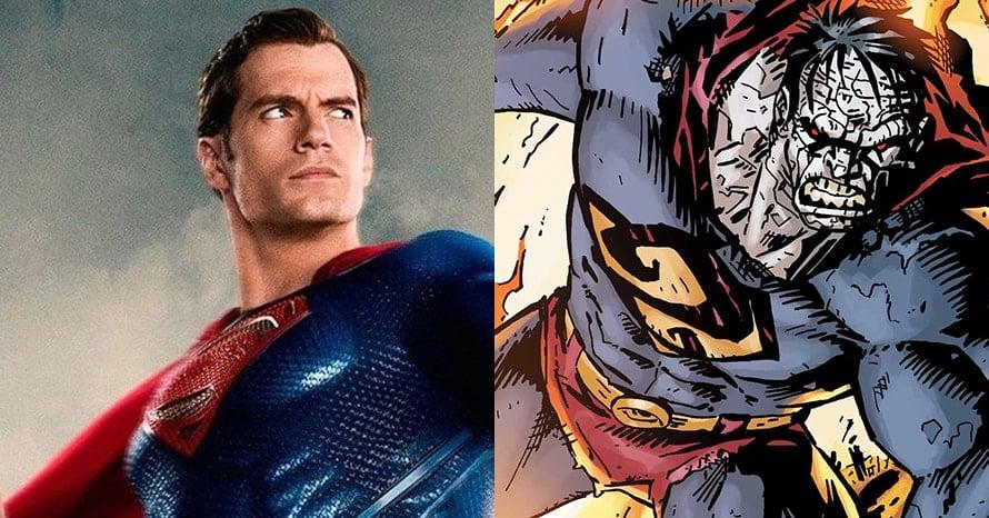 Henry Cavill Superman Bizarro DCEU