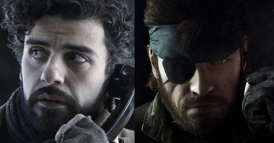 Oscar Isaac Metal Gear Solid Solid Snake