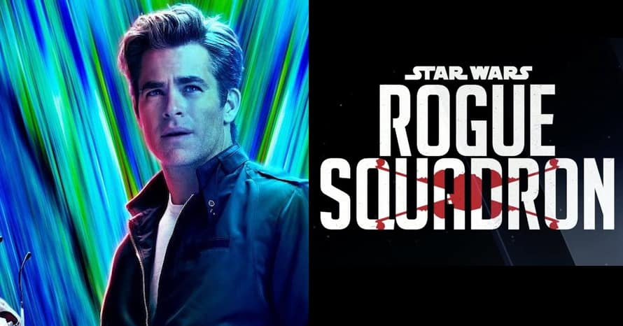 Rogue Squadron Chris Pine Star Wars Patty Jenkins