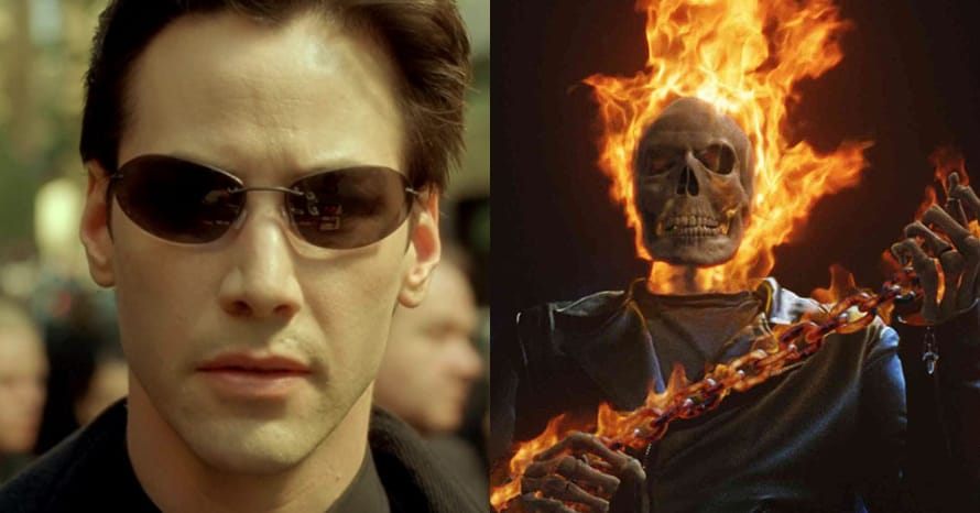 The Matrix 4 Ghost Rider Keanu Reeves Ghost Rider MCU