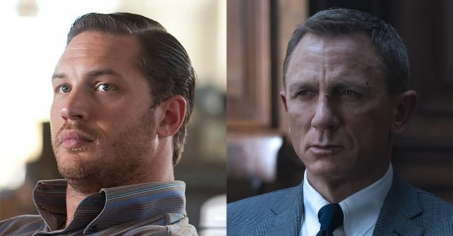 Tom Hardy Daniel Craig James Bond No Time to Die
