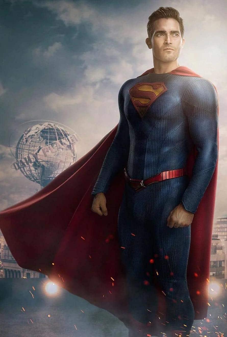 Tyler Hoechlin Superman Lois Rebirth Suit