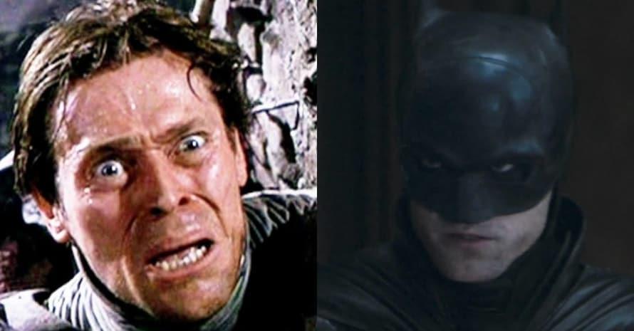 Willem Dafoe Robert Pattinson The Batman Joker