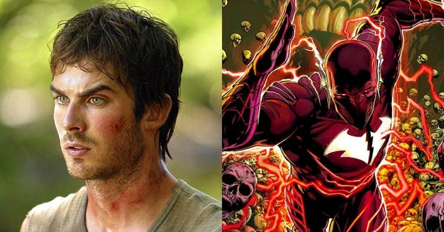 Ian Somerhalder Red Death Grant Gustin The Flash