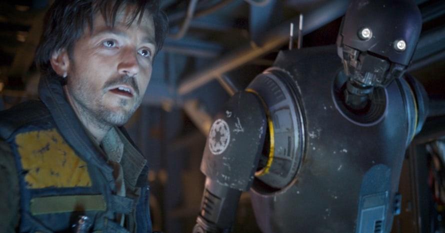 Alan Tudyk Andor K-2SO Rogue One Star Wars