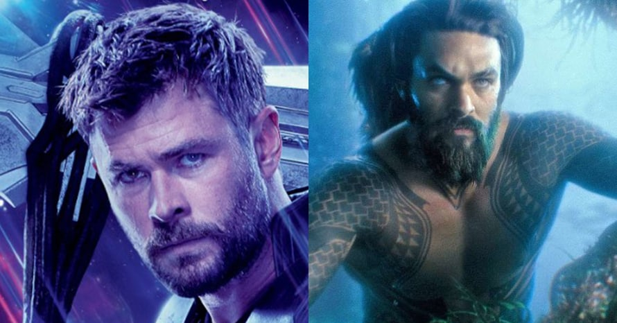 Aquaman Avengers Chris Hemsworth Jason Momoa