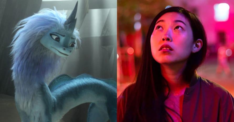 Awkwafina Raya and the Last Dragon