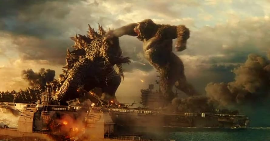 Godzilla vs Kong Warner Bros Legendary