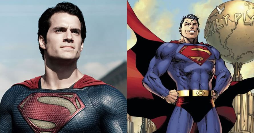 See Henry Cavill Step Into Classic Superman Suit For 'Man of Steel 2'