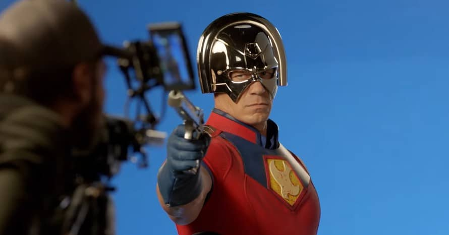 New photos from John Cena's 'Peacemaker' set reveal vigilante actor