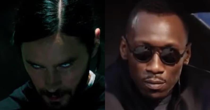 Jared Leto Mahershala Ali Blade Morbius